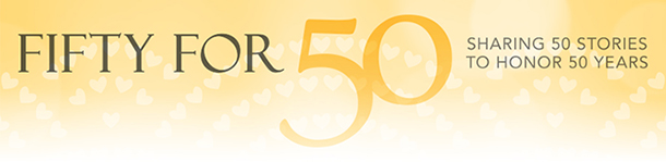 Fifty for 50: 50 stories honoring 50 years