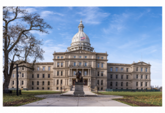 Photo of the Michigan Capitol Building