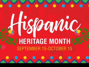 National Hispanic Heritage Month runs from Sept. 15 through Oct. 15 every year.