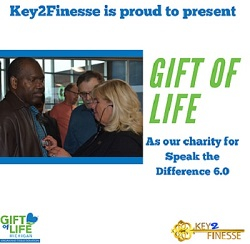 Key2Finesse, a student-led non-profit, contributed $75,000 to the Gift of Life Foundation in 2020.