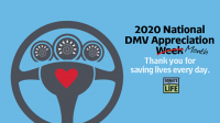 September is National DMV Appreciation Month.