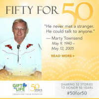 Marty Townsend was able to donate his organs and tissue.