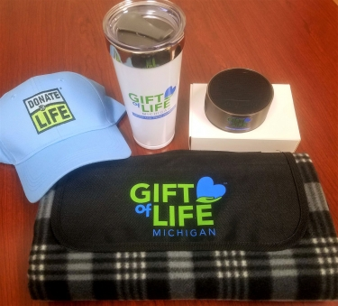 My Donor Story - National Donor Day campaign prize pack