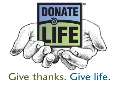 thanks for giving donate life