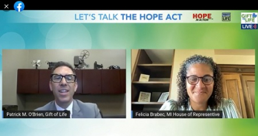 State Rep. Felica Brabec sponsored the HOPE Act in the Michigan House of Representatives.