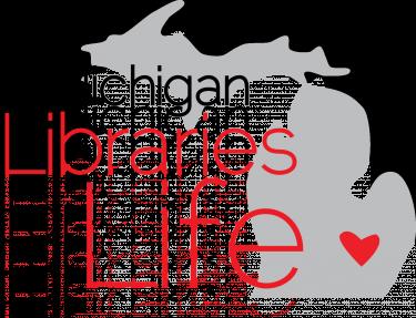 Michigan Libraries For Life logo