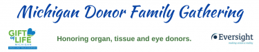 Michigan Donor Family Gathering (with logos)
