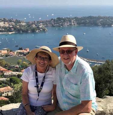 With a donated heart, Rebecca Anderson was able to celebrate her 30th anniversary with her husband, Rex.