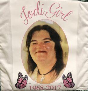 Jodi Bardel, 1968 - 2017