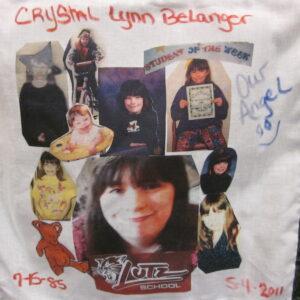 Crystal Belanger, Student of the week