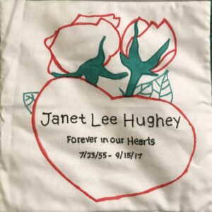 Janet Hughey, Forever in our hearts