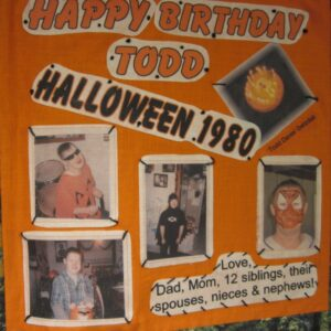 Todd Gwizdak, Halloween 1980 with pics of kids in costumes