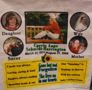Carrie Ann, Daughter, Sister, Wife, Mother