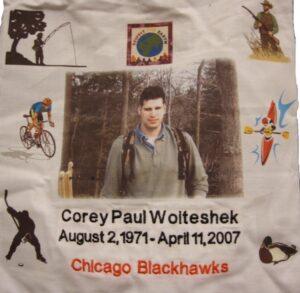 Corey Paul, Go Blackhawks, Respect the Earth