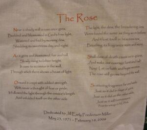 Jill Early, The Rose Poem, May 1971 - February 2008
