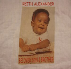 Keith Alexander, Beloved son and brother