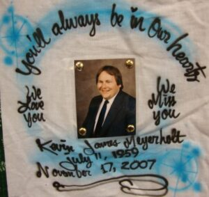 Kevin Meyer, You'll always be in our hearts