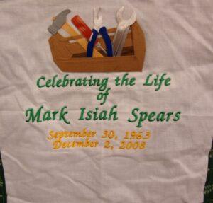 Mark Spears, September 1963 - December 2008