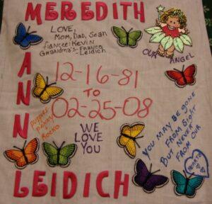 Meredith Leidich, December 1981 - February 2008