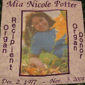 Mia Potter, December 1977 - November 2008