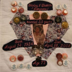 Shirley Thomas, Married 55 years August 1934 - April 2008