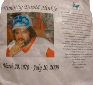 Timothy David, March 1970 - July 2008