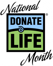 National Donate Life Month