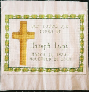 Joseph Lupi, Our love one lives on