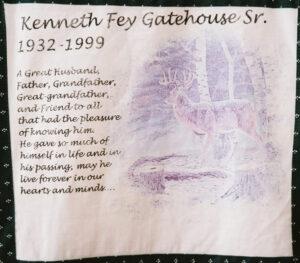 Kenneth Gatehouse Sr., 1932 - 1999