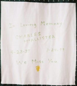 Charles McAllister, We miss you