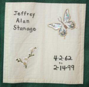 Jefferey Stanage, April 1962 - February 1999