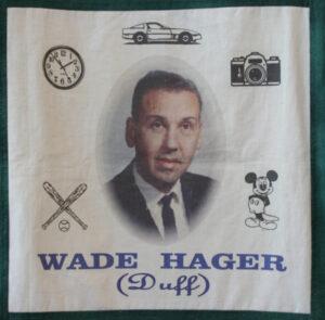Wade Hager, Duff