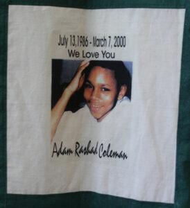Adam Coleman, July 1986 - March 2000