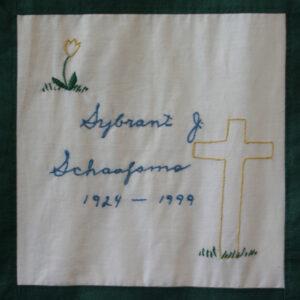 Sybrant Schaafsma, 1924 - 1999