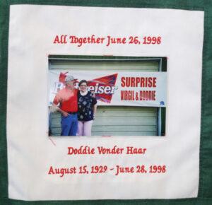 Doddie Vonder Haar, All Together June 26, 1998