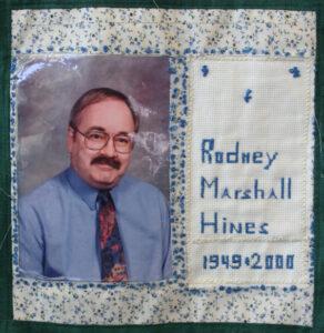 Rodney Hines, 1949 - 2000
