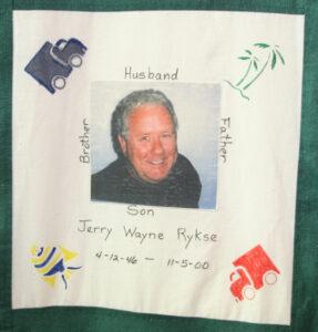 Jerry Ryske, April 1946 - November 2000
