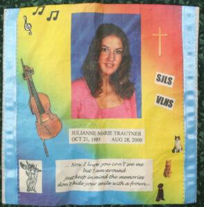 Julianne Trautner, October 1985 - August 2000