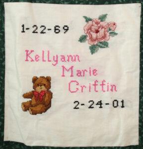 Kellyann Griffin January 1969 - February 2001