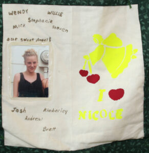 Nicole Sexton, Our sweet angel