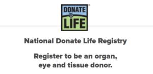 National Donate Life Registry