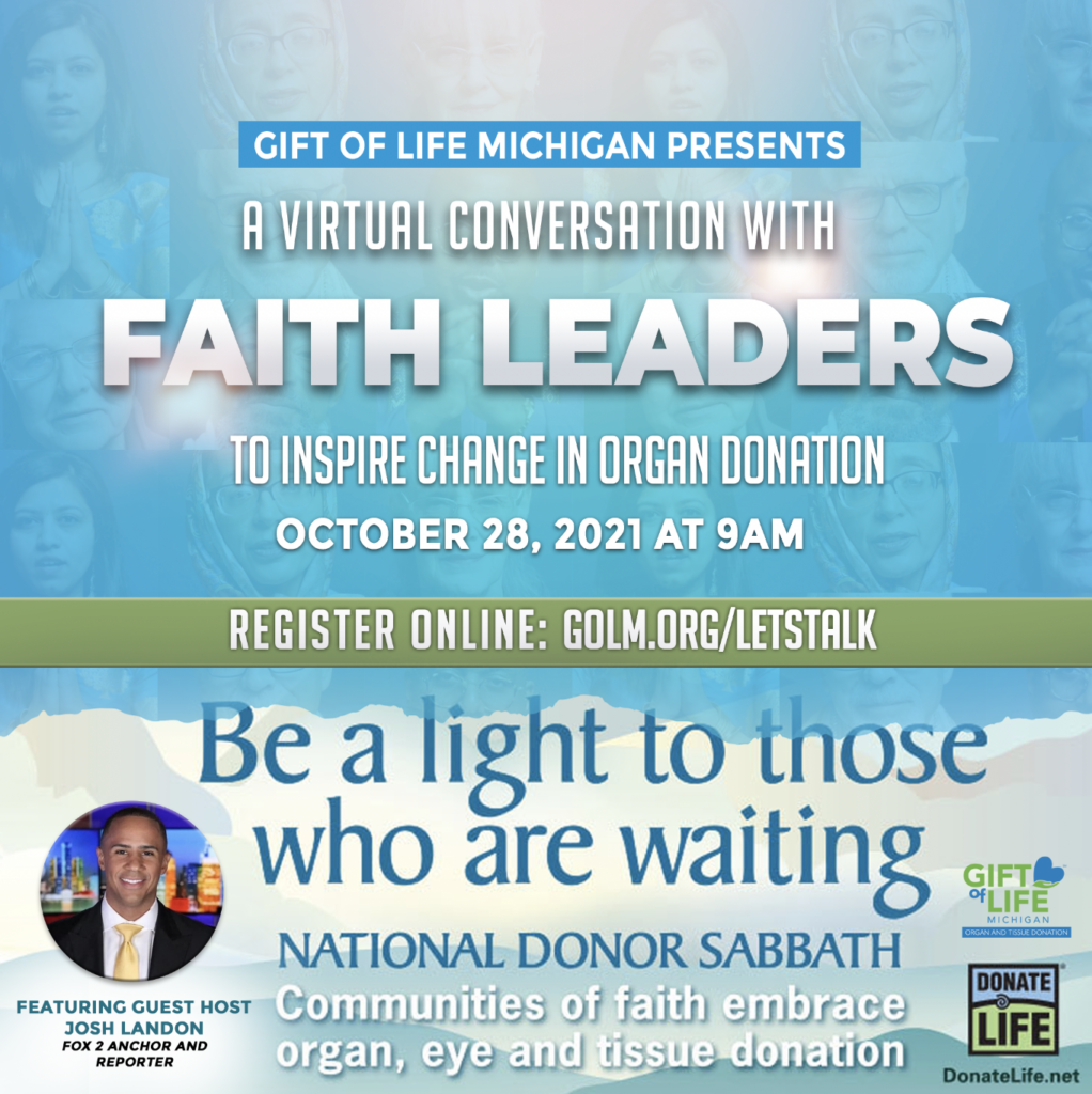 Promotional graphic for faith leaders roundtable discussion